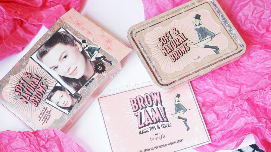 Kits para cejas Benefit soft and natural brows