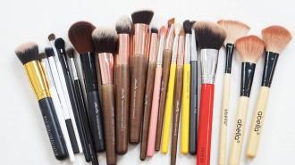 Brochas de maquillaje económicas menos de 100 pesos distrito belleza
