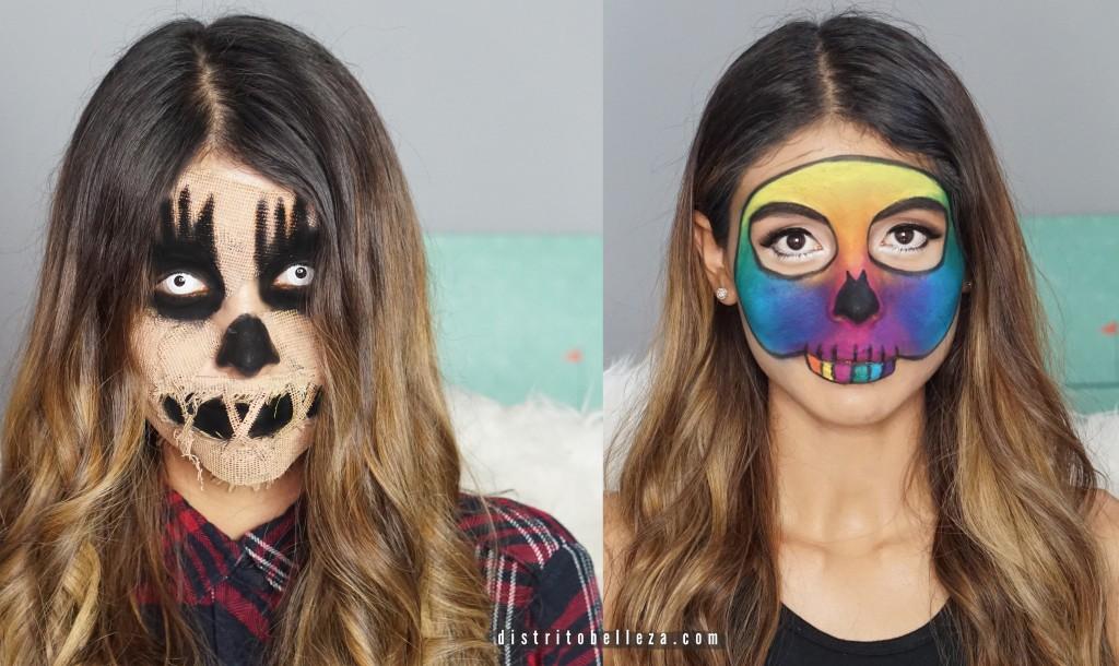 Disfraz maquillaje Halloween