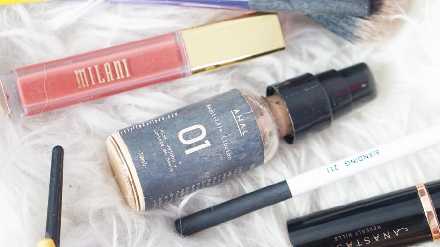 Bases de maquillaje favoritas 2016 Ahal