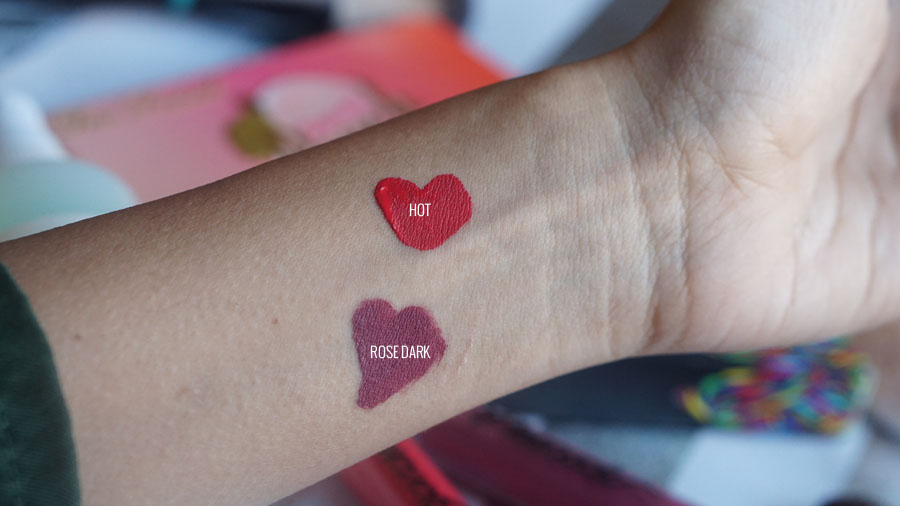 labiales peacock reseña ROSE DARK HOT