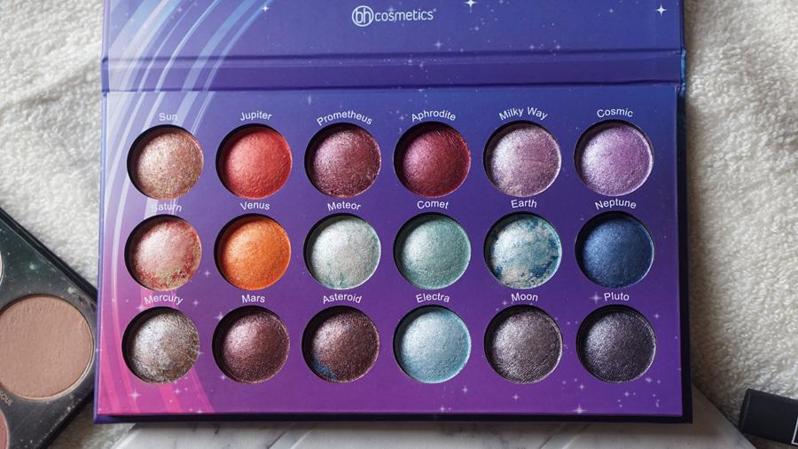 Paleta galaxy chic BH cosmetics distrito belleza despues