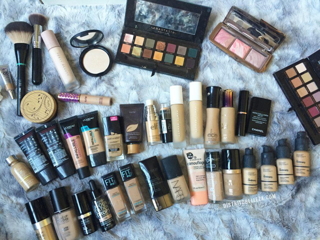 Bases de maquillaje para piel mixta (Mi colección)