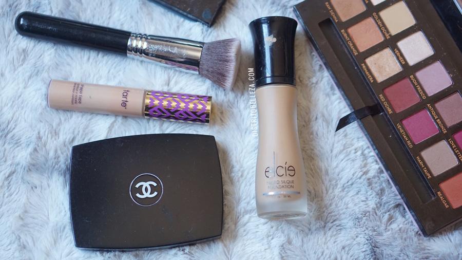 bases de maquillaje piel mixta elcie