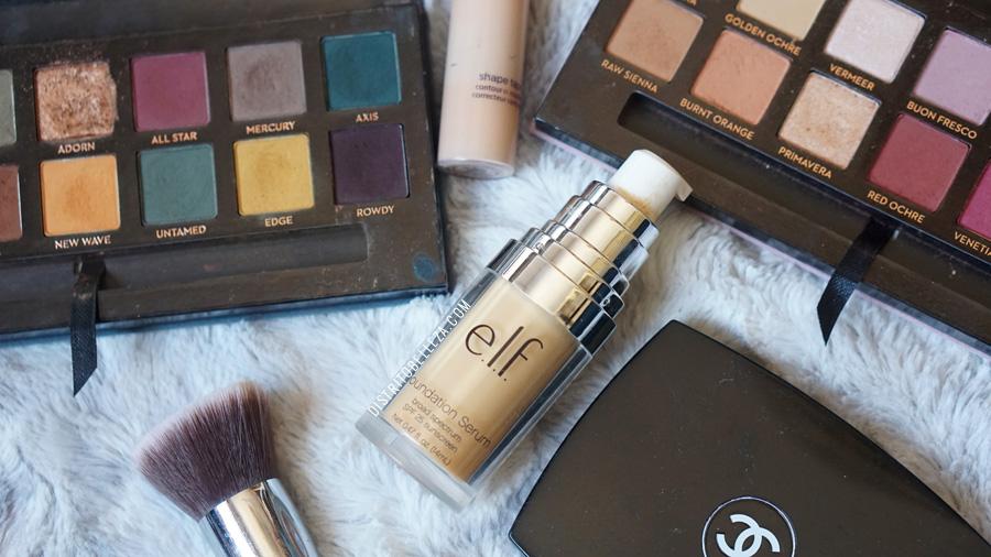 bases de maquillaje piel mixta elf foundation serum light medium