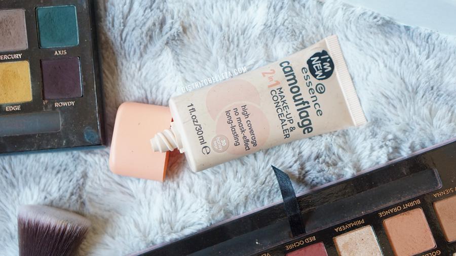 bases de maquillaje piel mixta essence camouflage 30 honey beige