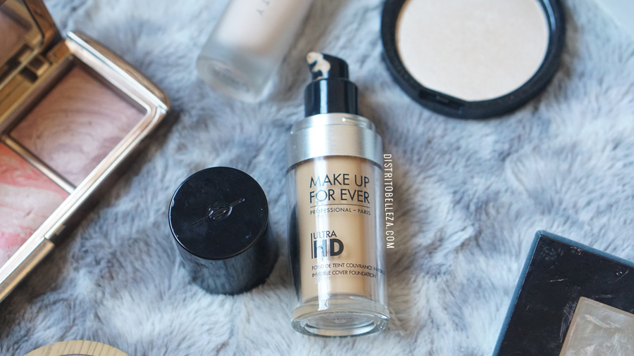 bases de maquillaje piel mixta makeup forever hd base