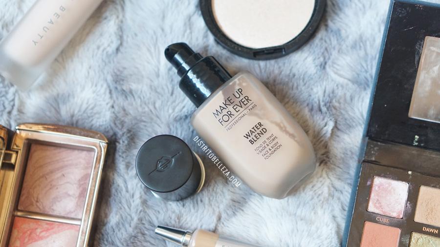 bases de maquillaje piel mixta makeup forever sand
