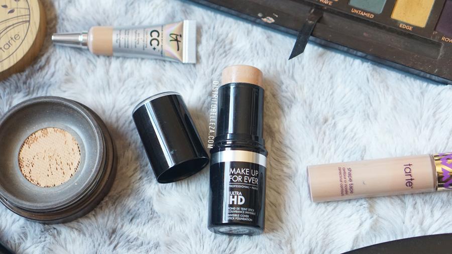 bases de maquillaje piel mixta makeup forever ultra hd stick