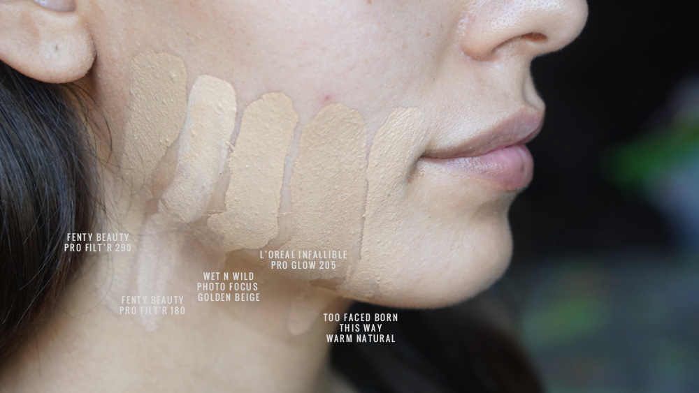 bases de maquillaje piel mixta mejor tono fenty beauty 290
