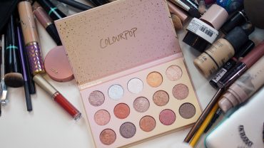 paleta colourpop golden state of mind distrito belleza