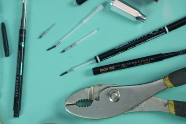 destruyendo maquillaje lápices para cejas distrito belleza