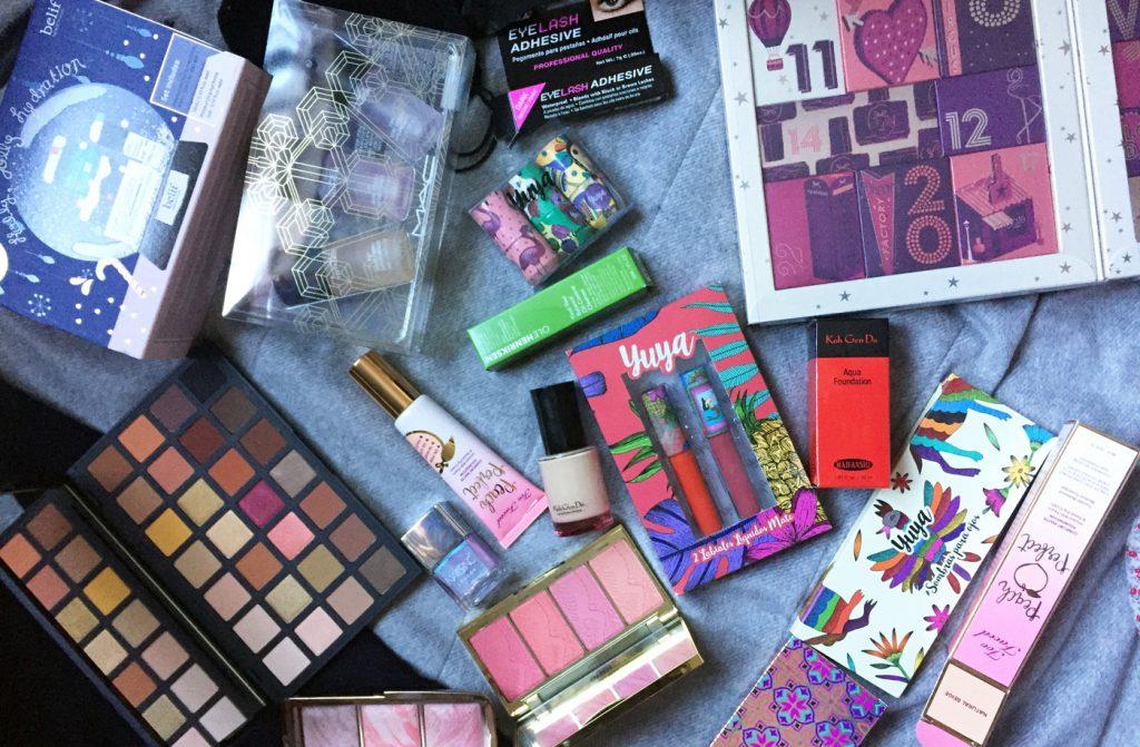 Probando maquillaje Yuya, Huda Beauty, Smashbox