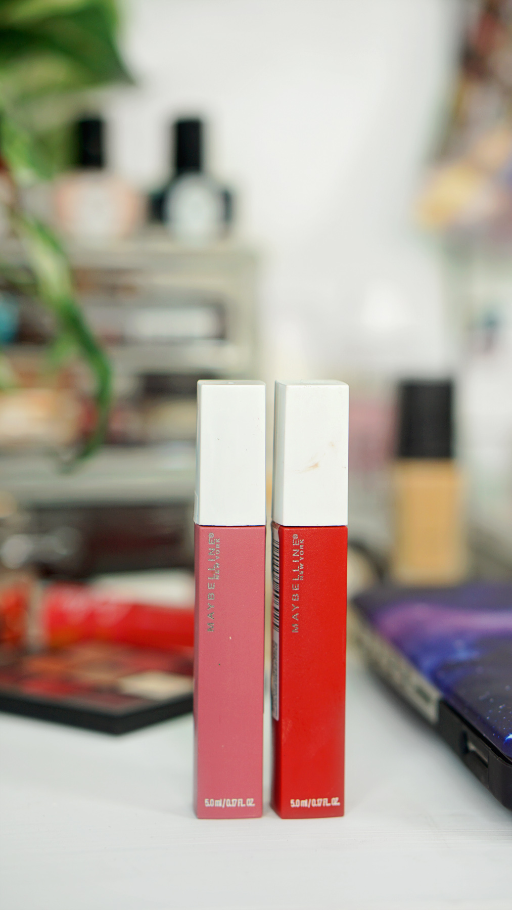 Maybelline Super Stay Matte Ink Beauty District Review Labials