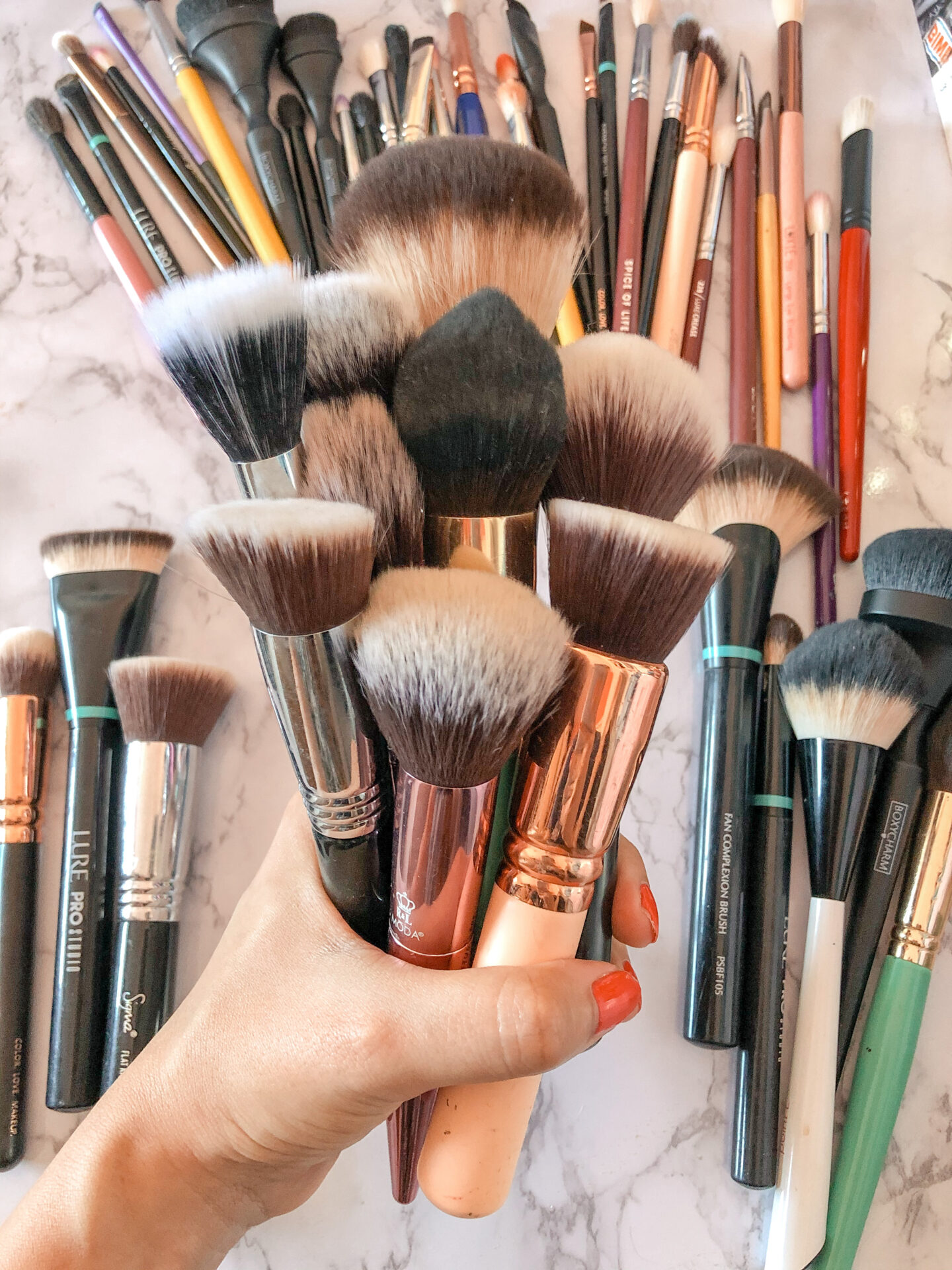brochas de maquillaje distrito belleza